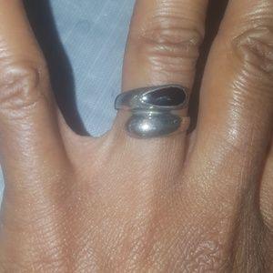 Sterling silver black onyx